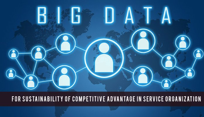 Big Data & Business Analytic for Sustainability of Competitive Advantage in Service Organization