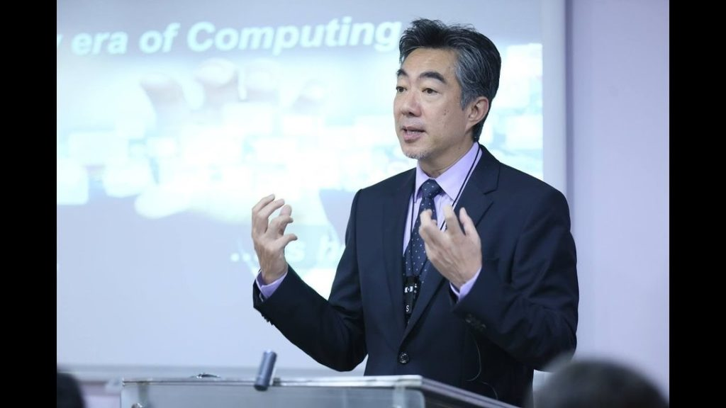 Dr. Norishige Morimoto, CTO & VP, IBM Asia Pacific speaking on Data Science, Analytics & Big Data