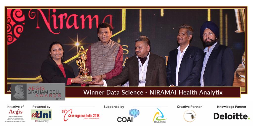 Niramai health analytix wins aegis graham bell awards